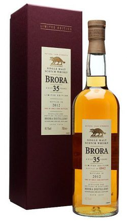 Brora 35y 1977-2012 OA 11th Release, 48.1% – limited 1566