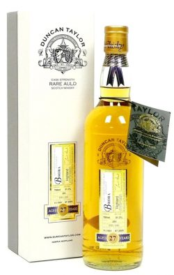 Brora 27y 1981-2009 Duncan Taylor's Rare Auld, Oak Cask 291, 51.3% – limited 330