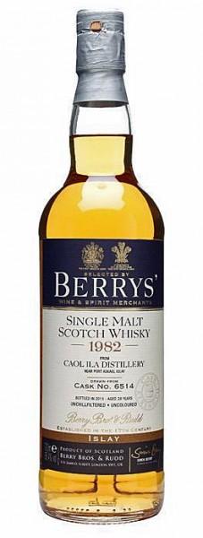 Caol Ila 28y 1982-2010 Berrys' New Label Refill Hogshead Cask 6514, 56.4%