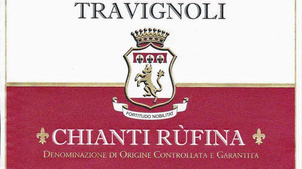 Etikett 2010 Chianti Rufina - Villa Travignoli