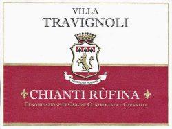 Etikett 2010 Chianti Rufina | © Travignoli
