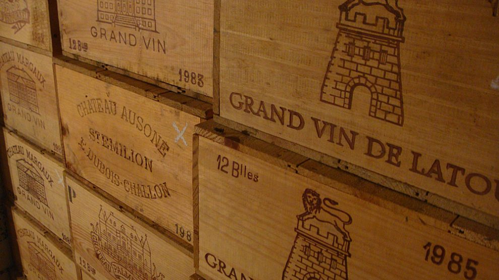 Bordeaux-Kisten