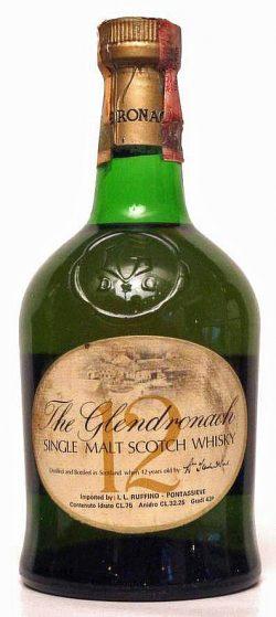 Glendronach 12y green dumpy bottle