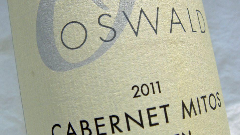 Etikett 2011 Cabernet Mitos trocken | Weingut Oswald