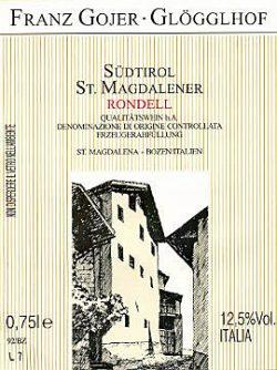 Etikett St. Magdalener Rondell