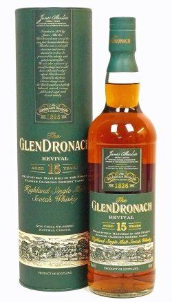 Glendronach 15y 1996-2011 Revival Oloroso Sherry Casks – 46%