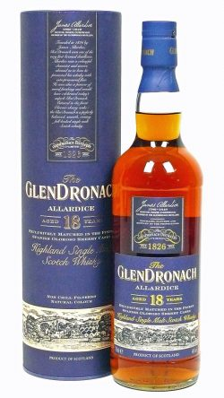 Glendronach 18y 1991-2009 Allardice Oloroso Sherry Casks, limited 6600 – 46%