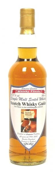 Longmorn 32y 1976-2008 WhF Scotch Whisky Guide Bourbon Hogshead – 54.7%