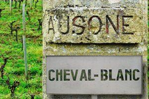 Chateau Ausone und Chateau Cheval-Blanc