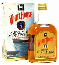 White Horse Blend 12y 1975-1987 America's Cup in Australien, 0,75l – 43%
