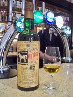 White Horse Cellar 8y 1949-1957, 0,75l 70 Proof – 40%