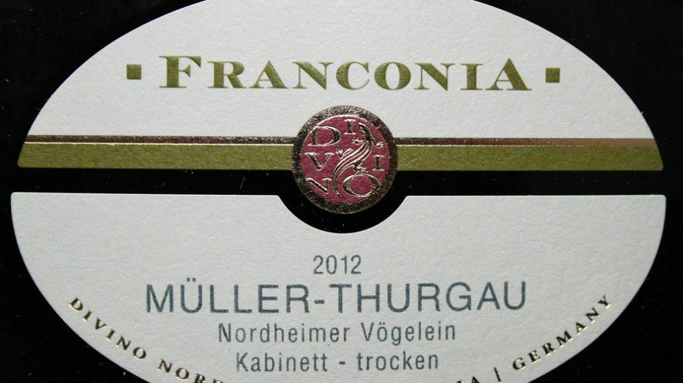 2012 Nordheimer Vögelein Müller-Thurgau Kabinett trocken