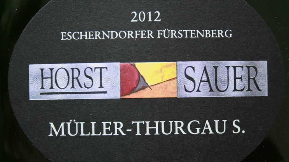 2012 Escherndorfer Fürstenberg Müller-Thurgau S. trocken