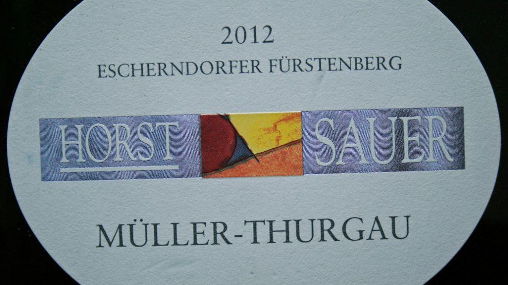 2012 Escherndorfer Fürstenberg Müller-Thurgau Kabinett trocken