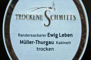 2012 Randersackerer Ewig Leben Müller-Thurgau Kabinett trocken