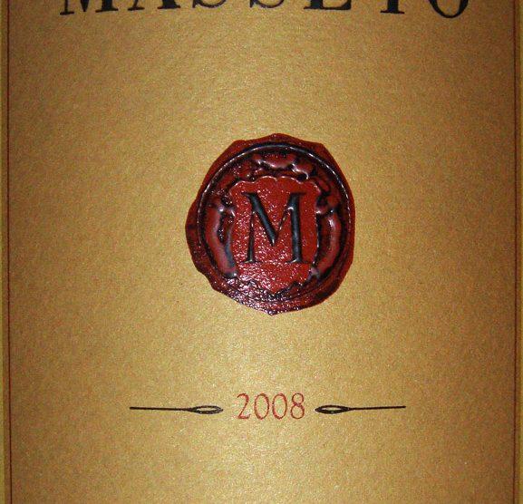 2008 Masseto   Tenuta dell'Ornellaia