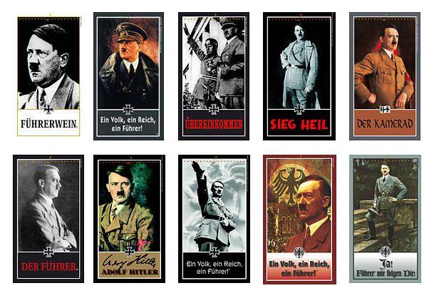 Die Hitler-Etiketten der Familienkellerei Lunardelli
