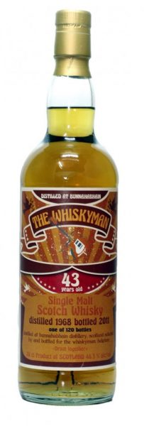 Bunnahabhain 43y 1968-2011 TWm Dram Together lim. 120 – 46.5%