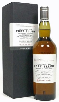 Port Ellen 27y 78-06 6th Release Amer./Europ. Oak Casks 4.560btl – 54,2%