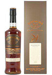 Bowmore 13y 95-08 Craftsmen's Collection Sherry Butts 1551-53, 59+60, 3.000btl – 54.6%
