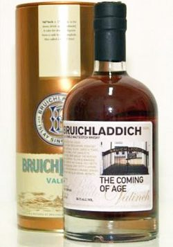 "Bruichladdich 9y 02-11 Valinch ""The Coming of Age"" PC Sherry Cask 1 400btl – 58.7%"