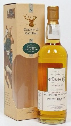 Port Ellen 16y 1980-1997 G&M Cask Strength Collection cask 5105-10 – 64,4%