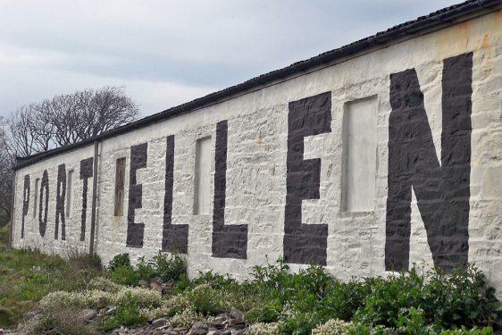 Port Ellen Schriftzug
