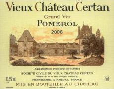 Etikett Vieux Château Certan