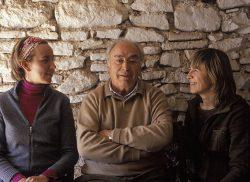 Marta, Pere und Pilar Rovera
