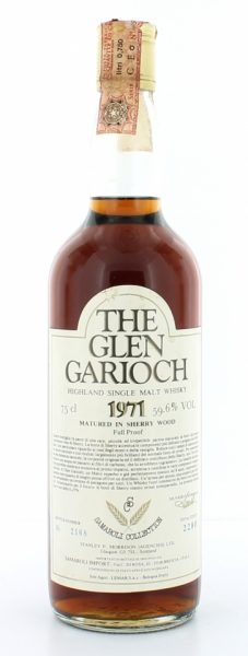 Glen Garioch 1971 - Full Proof Sherry Wood, 2280btl - 59.6%