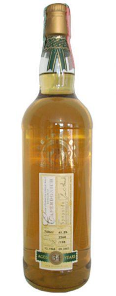Caperdonich 34y 1968-2003 DT Peerless, oak cask 3568, 198btl – 41.8%