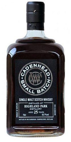 Highland Park 25y 88-13 Cadenhead - Small Batch Sherry Butts 1086btl – 55,7%