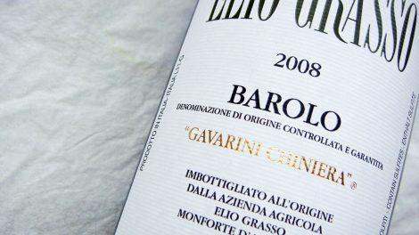 2008 Barolo von Elio Grasso