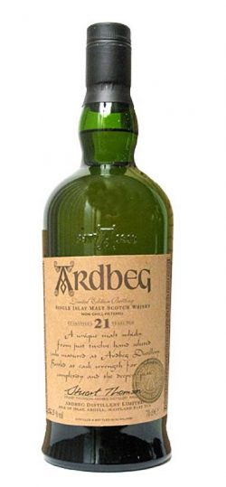 Ardbeg 21y ~ 79-01 OB Committee Res. 2001 Bourbon casks from 79/80 2.500btl – 56.3%