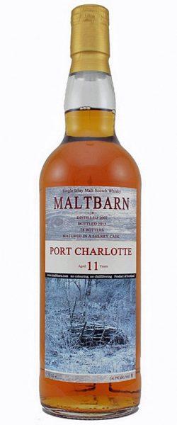 Port Charlotte 11y 2002-2013 Maltbarn sherry cask 78btl – 54,7%