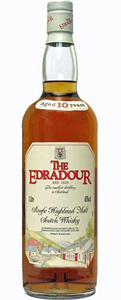 Edradour 10y ~ 1981-1991 OB old label 1,0L – 43%