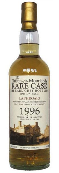 Laphroaig 14y 1996-2010 Queen of the Moorlands Rare Cask Ed. #7300 186btl - 50,8%