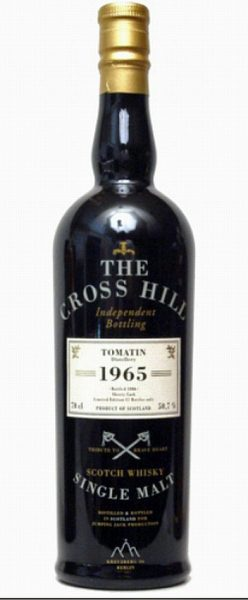 Tomatin 41y 1965-2006 JWWW Cross Hill Sherry cask 82btl – 50.3%