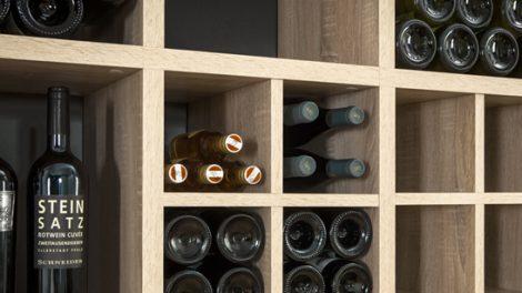 Eine korrekte Lagerung des Weins ist wichtig
