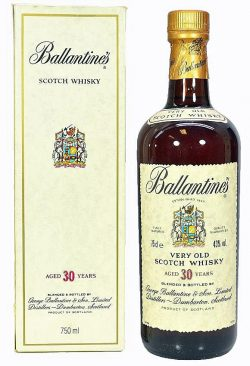 Ballentines 30y ~48-78 Blended Very Old Scotch Whisky - 43%