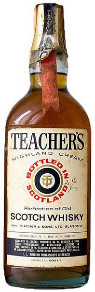 Teacher's ~ 1970er Highland Cream Blended Scotch Whisky - 44%