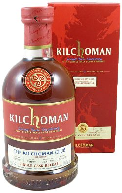 Kilchoman 5y 07-12 1st Club Bottling Sherry Hogshead 451/2007 330btl – 59,2%