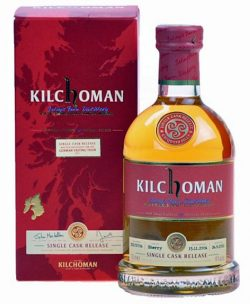 Kilchoman 4y 06-11 German Tasting Tour 2011 Fresh Oloroso Sherry Cask 322 - 60%