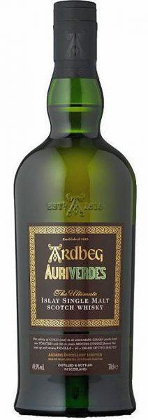 Ardbeg 2014 OB, Auriverdes Limited Edition 6.600btl – 49,9%