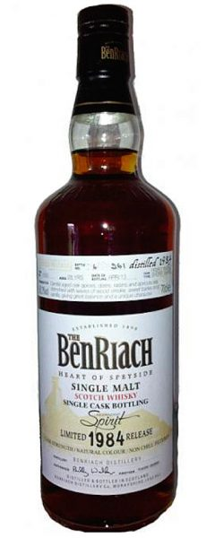 BenRiach 28y 84-13 OB for independentspirit.de, Peated, PX Fin. #1050 261btl – 50,2%