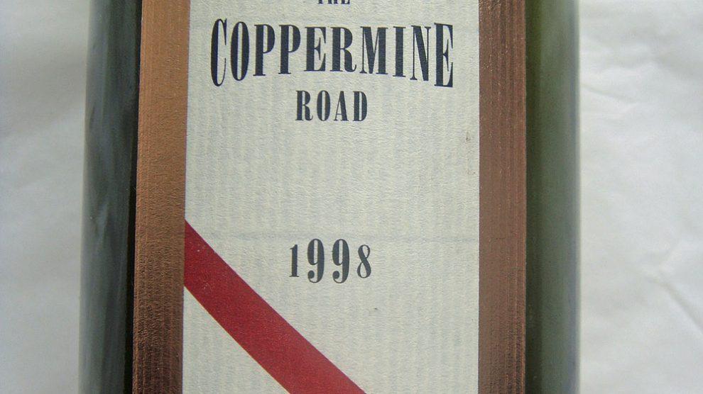 1998 Coppermine Road Cabernet Sauvignon
