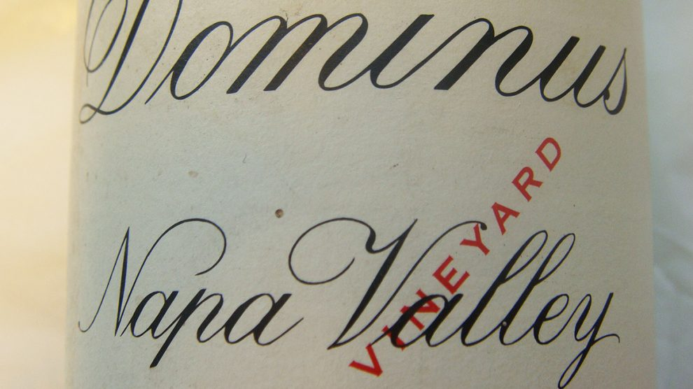 1991 Dominus Red Wine