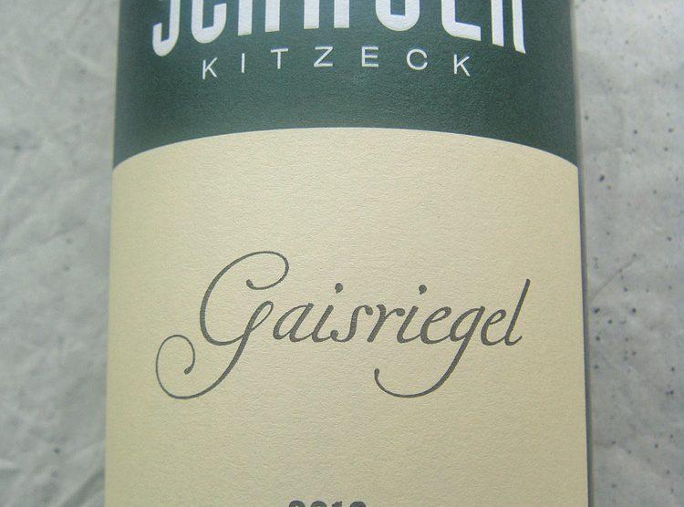 """2013 Gelber Muskateller """"Gaisriegel"""""""