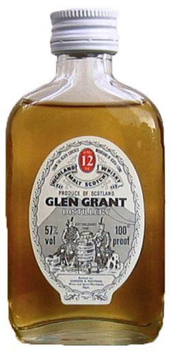 Glen Grant 12y ~1970er G&M, 100°proof White Screw Cap - 57%