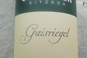 """2013 Grauburgunder """"Gaisriegel"""""""